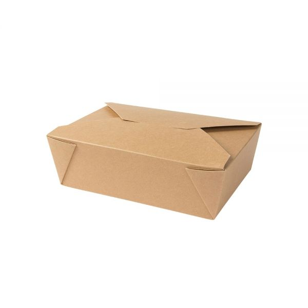 Take-away-Karton-Boxen 1500 ml, braun